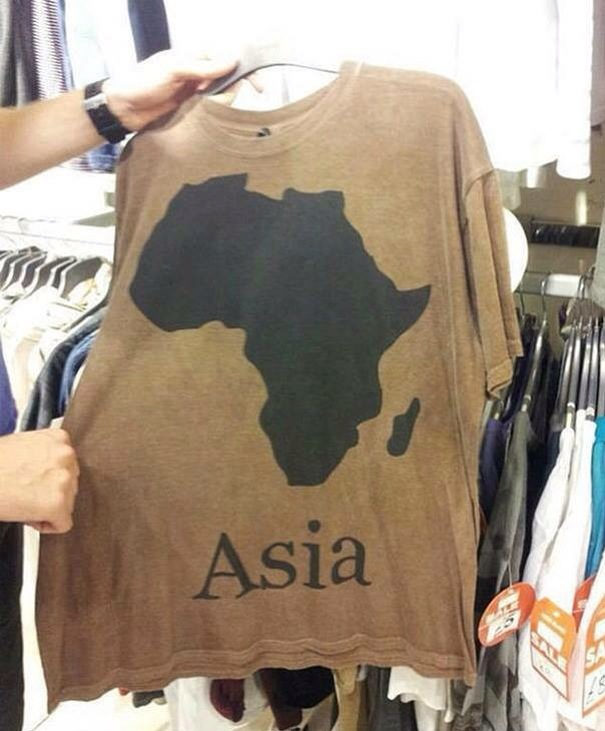 hilarious job fail in t shirt print design